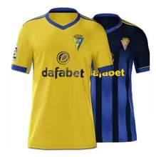 2020-21 camisa de alta qualidade cadiz 2021 cadiz casa longe lozano alex bodiger juan cala camiseta subida para liga masculina