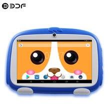 Os recém-chegados 7 Polegada crianças tablets quad core google play android 8.0 câmera dupla bluetooth wifi tablet pc presentes das crianças