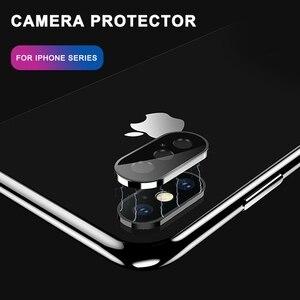Image 4 - Gehärtetem Glas Auf Für iPhone 11 Pro X XS Max Glas Kamera Objektiv Screen Protector Für Apple iPhone11 Pro Max schutz Glas Film