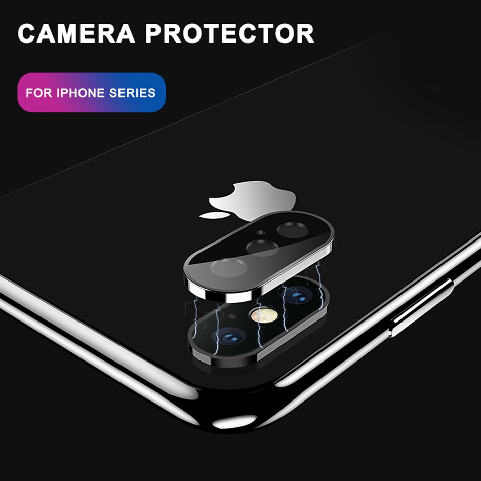 Image 4 - Tempered Glass On For iPhone 11 Pro X XS Max Glass Camera Lens Screen Protector For Apple iPhone11 Pro Max Protective Glass Film-in Phone Screen Protectors from Cellphones & Telecommunications