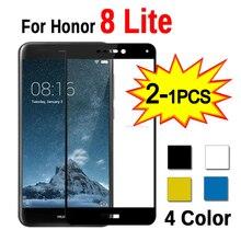1 2pcs זכוכית עבור Huawei Honor 8 Lite אור מגן בטיחות מחוסמת זכוכית על כבוד 8 Honor8 לייט אור 8 לייט מסך מגן