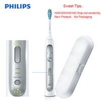 Philips HX9160/9140 Sonicare Elektrische Zahnbürste Verbessert Gum Gesundheit In Nur Zwei Wochen für Eine Belebende Tiefe Sauber für familie-in Elektrische Zahnbürsten aus Haushaltsgeräte bei