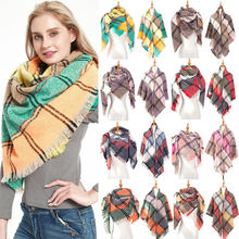 2020 женский зимний шарф cashmerelike вязаная Пашмина бандана