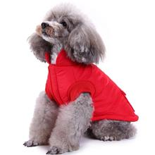 New Plus Size Dog Vest Jacket Coat Autumn Winter Windproof Warm Pet Clothes For Medium Large Dogs Reflective Clothing