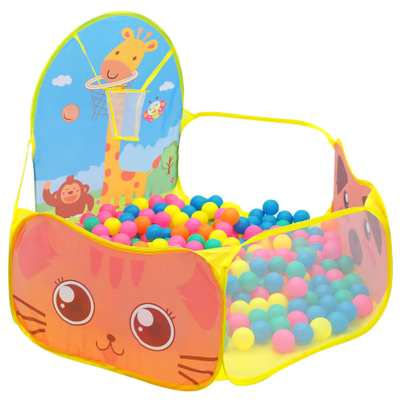Children Outdoor Indoor Portable Baby Playpen Ball Pool Play Tent Kids Safe Foldable Playpens Game Pool Of Balls For Kids Gifts