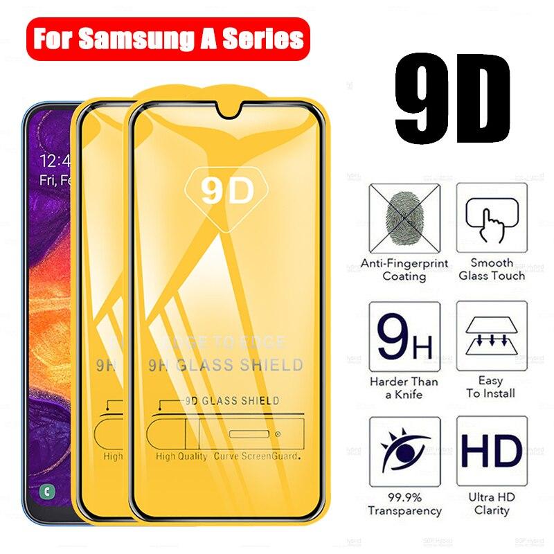 2 peças para samsung galaxy a50 a30 a21s m30 a9 2018 9d temperado filme protetor de tela de vidro para samsung a 50 30 01 vidro protetor