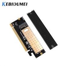 Kebidu adaptador de interface, m.2, nvme ssd ngff to pcie 3.0 x16 x4 m, placa de expansão, suporte de velocidade total 2230 para 2280 ssd