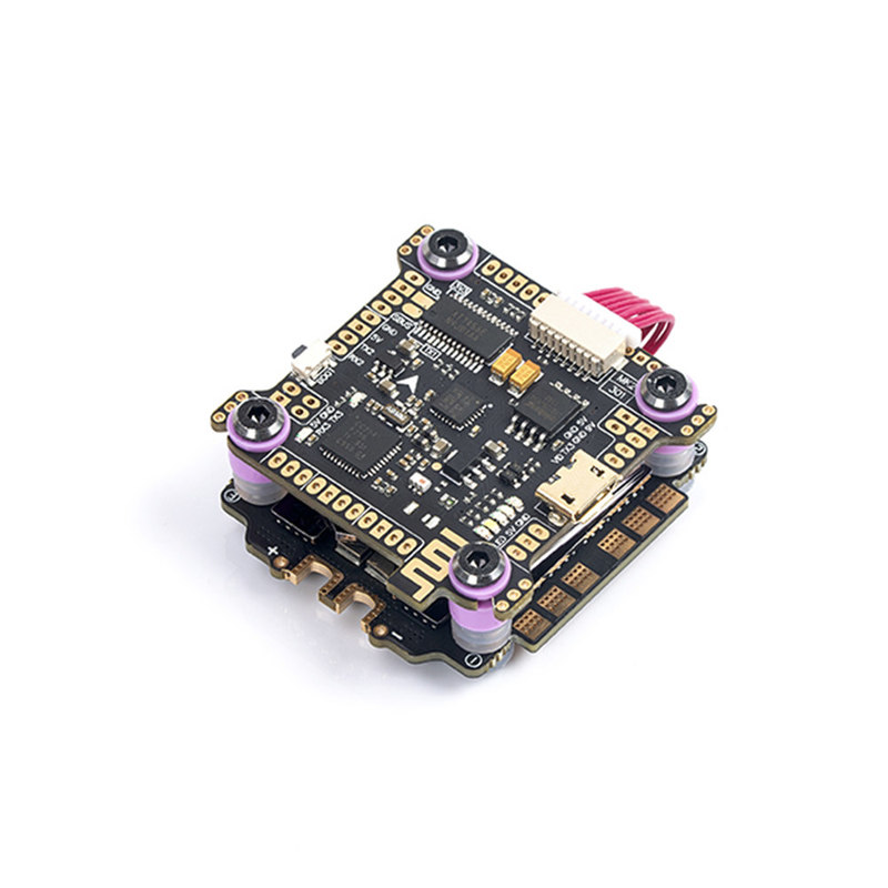 Diatone Mamba F722S F7 OSD Bluetooth Flight Controller & F60PRO 60A BL_32 3-6S 4in1 ESC Stack For RC Drone FPV Racing
