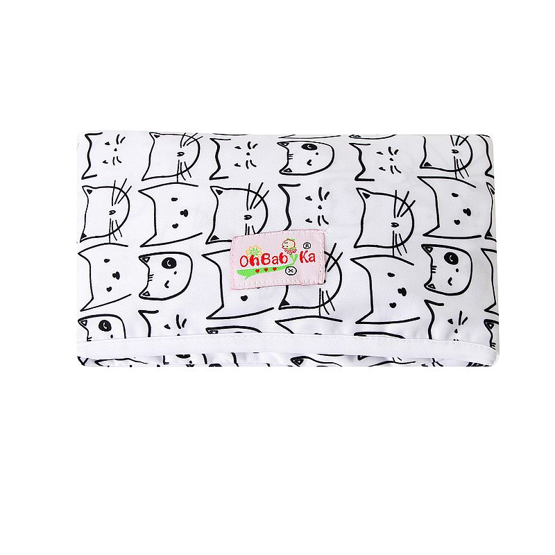 Новые 3 в 1 Водонепроницаемый пеленальный коврик пеленки мнчества, Портативный чехол для детских подгузников коврик чистой ручной складной сумка из узорчатой ткани - Цвет: HND08