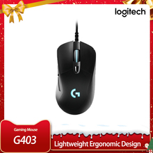 Mouse Gamers Logitech G403 Hero Desktop/laptop RGB Wired Support Without