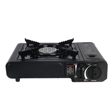 цена на Gas Stove Portable Butane Gas 2900W Cassette Combustion Single Furnace Outdoor Carrying Camping Backpacking Hiking Cooking