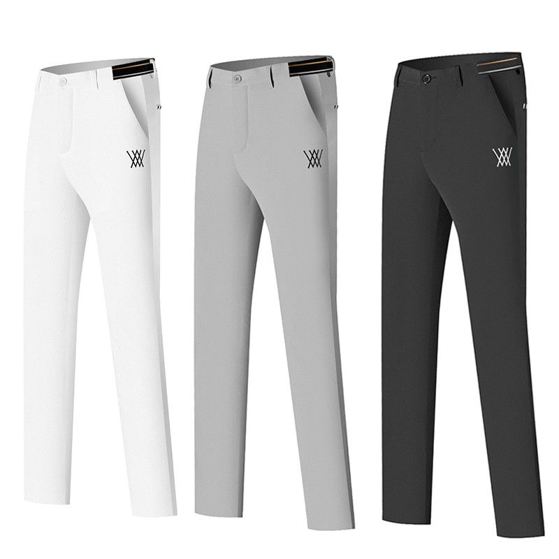 Men's Golf Pants ANEW Summer Sports Golf Apparel Trousers Dry Fit Breathable Pants for Men 골프웨어