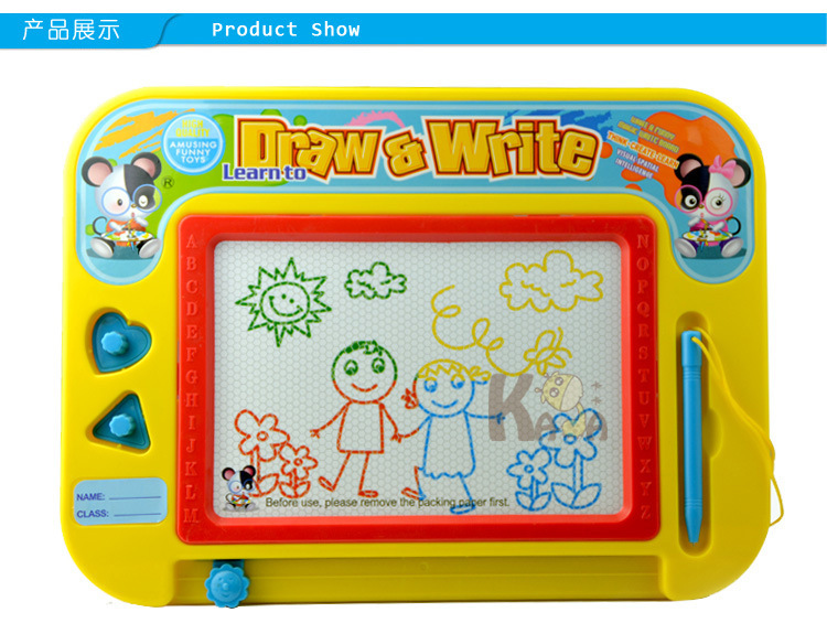 Special Offer Children'S Educational Early Education Magnetic Graffiti Sketchpad Small Color Writing Board Baby Learn To Draw