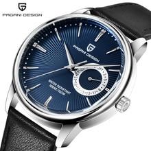 2020 novo design pagani relógios masculinos topo da marca de luxo relógio quartzo masculino couro 100 m à prova dwaterproof água militar relógio relojes hombreRelógios de quartzo