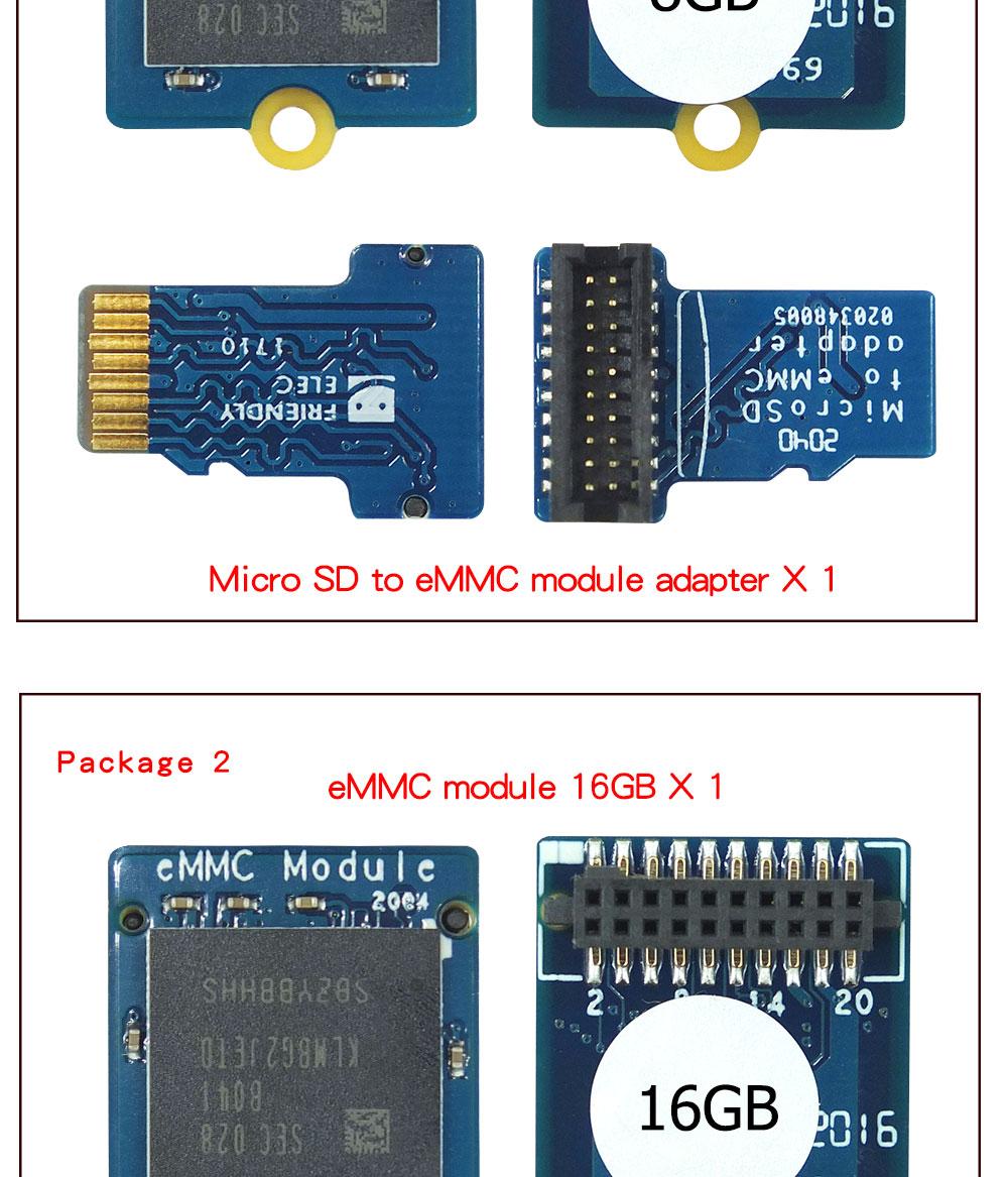 Módulo emmc 8gb 16gb 32gb compatível com
