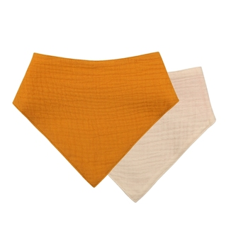 1 Pc Baby Bibs Cotton Accessories Newborn Solid Color Snap Button Soft Triangle Towel Feeding Drool Bibs - S008