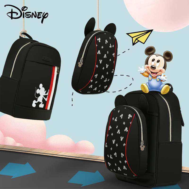 Disney Luxury USB Diaper Bag Backpack For Baby Care Large Capacity Waterproof Baby Bag Organizer Mommy Bag For Travel Cute New