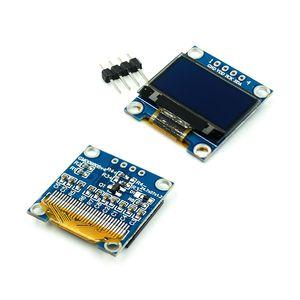Image 2 - 0.91 0.96 1.3 1.54 2.42 אינץ IIC הסידורי לבן כחול OLED תצוגת מודול 128X64 I2C SH1106 12864 LCD עבור Arduino