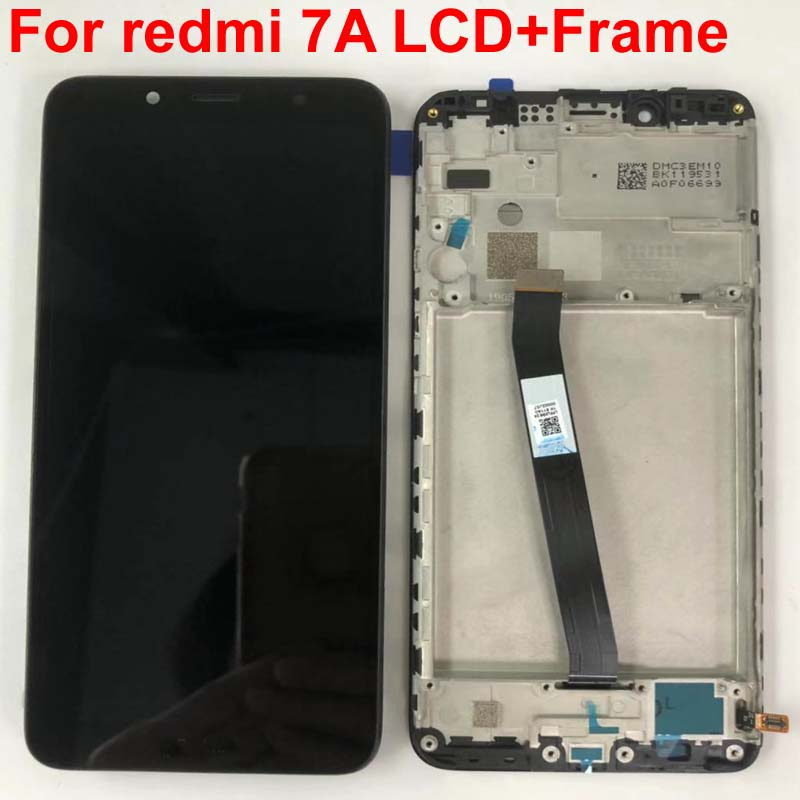 "Original For 5.45"" Xiaomi Redmi 7A MZB7995IN LCD Screen Display With Frame+Touch Screen Panel Digitizer For Xiaomi Redmi 7A-in Mobile Phone LCD Screens from Cellphones & Telecommunications"
