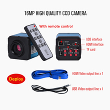Professional Lab biological HD trinocular microscope zoom 2500X + 1600X electronic digital Camera USB HDMI VAG + 10-inch LCD led