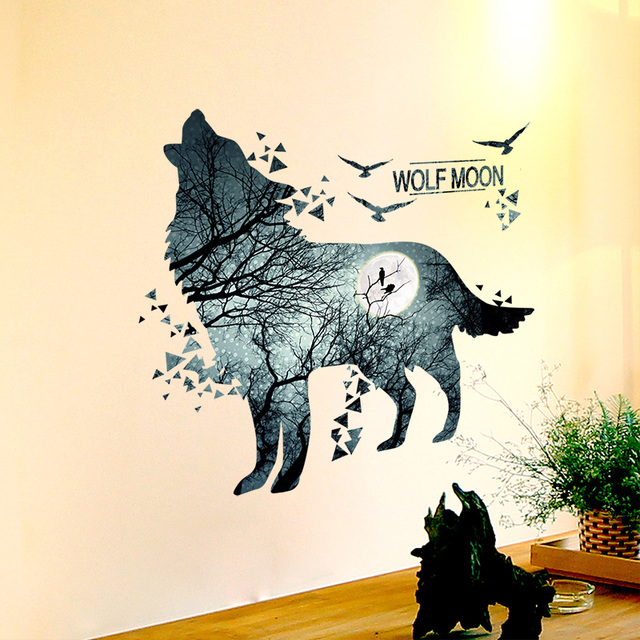 Wolf Forrest 81*74cm Wall Covered 10