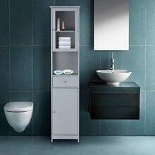 IKayaa cajones de almacenamiento estantes de madera soportes de los organizadores estantes muebles para el hogar habitaciones armarios gabinetes de baño