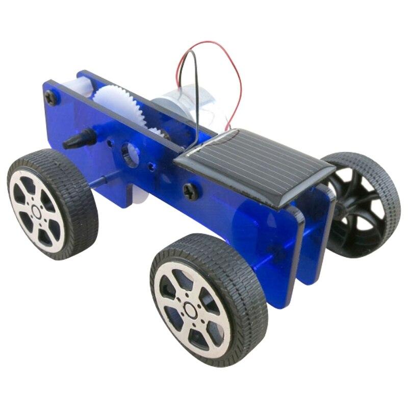 Carro Solar de física, modelo experimental, tecnología de coche, pequeño, Juguetes De ciencia populares
