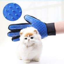 Pet Grooming Glove Cat Hair Removal Mitts De-Shedding Brush Combs For Dog Horse Massage Supplies Accessoies