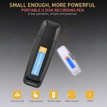 Kebidumei mini gravador ditafone usb caneta de voz u-disco profissional flash drive gravador de áudio digital micro sd tf cartão 32g