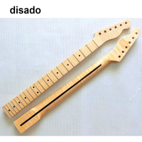 disado 21 Frets one piece Tiger flame maple Electric Guitar Neck Guitar accessories Parts musical instruments