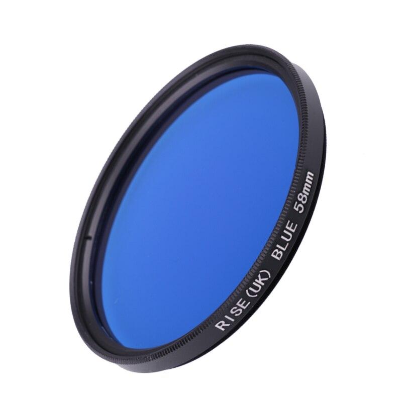 есть, синий фильтр на фотоаппарате перемешайте, перелейте