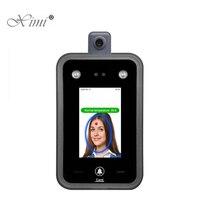 Neue Temperatur Erkennung Gesicht Anerkennung Terminal Gesichts Access Control System Zeit Teilnahme Mit Freier Software