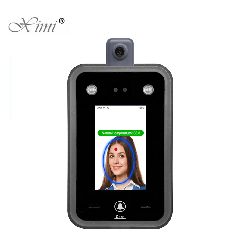 New Temperature Detection Face Recognition Terminal Facial Access Control System Time Attendance With Free Software|zk biometric|access controlbiometric fingerprint - AliExpress