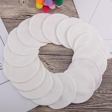 16Pcs/set Reusable Cotton Makeup Remover Pads With Bag 3.15 Inch Washable Eyeshow Nail Art Pad Face Cleaning
