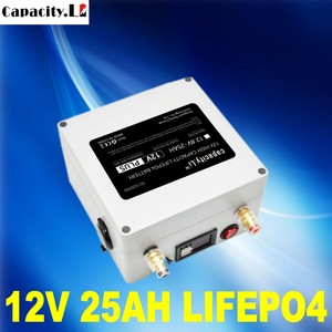 Capacity 12v 25ah rechargeable lithium battery LiCoO2 with BMS usb battery pack 20AH 30ah lifepo4 Send Charger free shipping