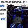 Нововису для Mercedes Benz C MB W205 2014 ~ 2020 или GLC X253  современный комнатный светильник