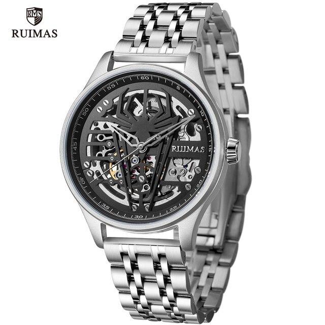 RUIMAS Automatic watch Man Steel Sport Mechanica