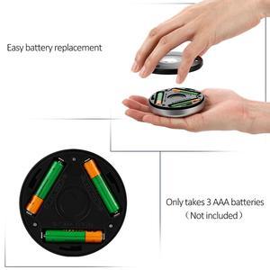 Image 5 - 6 LED モーションセンサーナイトライトワイヤレス赤外線自動センサー壁ランプバッテリ駆動屋内キャビネット階段クローゼット光
