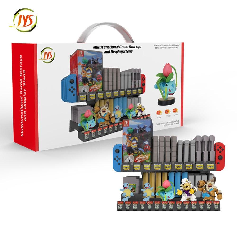 Для карт памяти Nintendo Games Tower для SFC/ FC/ GameBoy/ N64/ NDS/ NES/ SNES/для Nintendo Switch Amiibo Stand Joy-con Holder