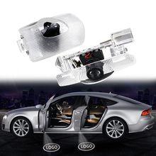 2 шт Автомобильный светодиодный светильник добро пожаловать