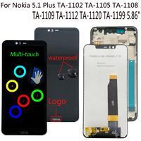 1 5 lcd Shyueda 100% Orig New For Nokia 5.1 Plus X5 TA-1102 TA-1105 TA-1108 TA-1109 TA-1112 TA-1120 TA-1199 LCD Display Touch Screen (1)