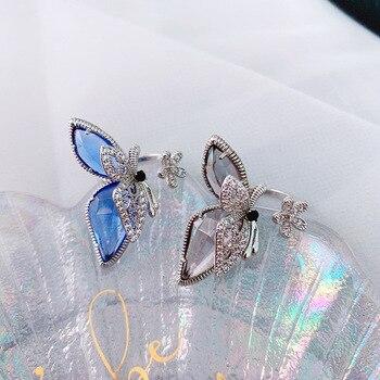 Bague papillon argent