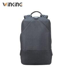 Kingsons новый мужской модный многофункциональный рюкзак прочный водонепроницаемый тканевый унисекс Противоугонный рюкзак 15 дюймов кроссовк...