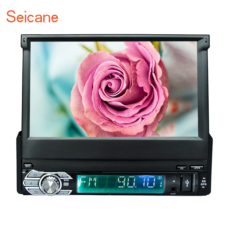 Seicane Universal Car Stereo <font><b>Android</b></font> 6.0 Single <font><b>1DIN</b></font> 7
