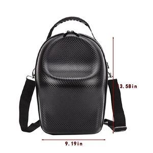 Image 4 - Pu deri omuz çantası seyahat taşıma çantası DJI gözlük FPV VR gözlük seti