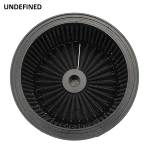 Image 5 - Motorcycle Air Cleaner Filter System Inner Element Black For Harley Sportster 883 1200 XL Dyna Softail Fat Boy Touring Road King