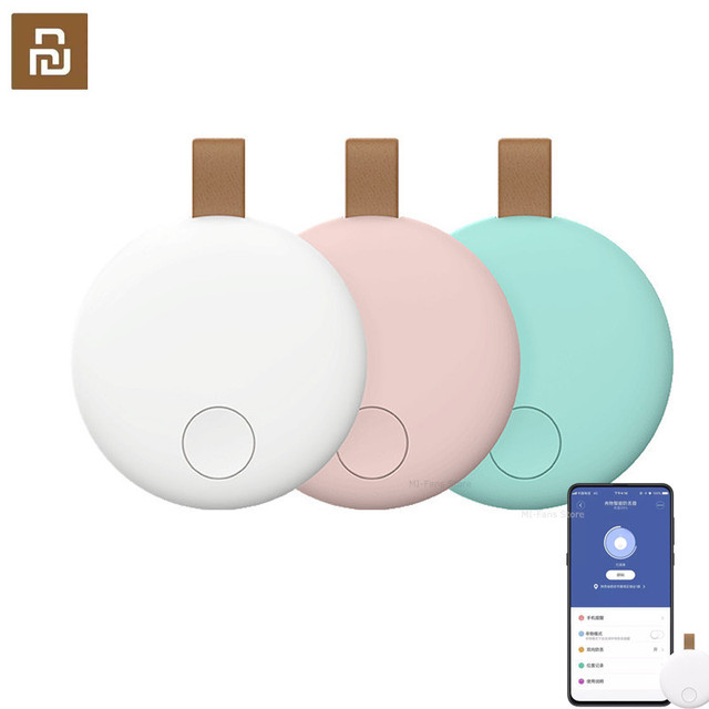 Youpin Ranres Smart Intelligent Mini Anti lost Device Two way mutual search 15M long distance Work For Mi home app Anti lost