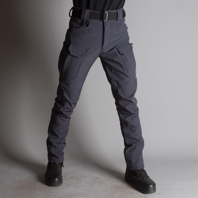 Мужские Зимние флисовые брюки размера плюс, водонепроницаемые, теплые, походные, спортивные, туристические|Походные штаны|   | АлиЭкспресс