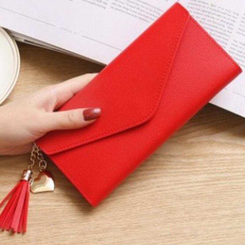 LKEEP 2020 New Fashion Women Wallets Leather Hasp Wallet Women's Long Design Purse Clutch Women Lady Wallet Cartera Mujer