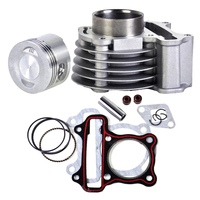 47mm Big Bore Cylinder Kit For GY6 50 60 80 139QMB 139QMA Scooter Moped ATV